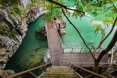 Il NaI di Thale del lago, Tailandia Fotografia Stock Libera da Diritti