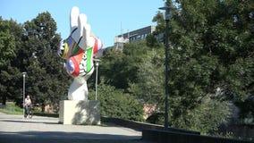 Il Nanas di Hannover, Germania archivi video