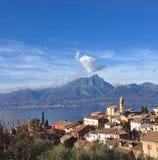 Il naso di millefoglie della montagna nube Fotografie Stock