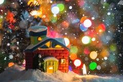 Il Natale alloggia ed esamina in controluce Immagini Stock Libere da Diritti