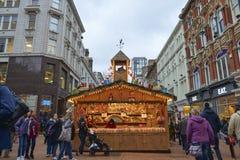 Il Natale commercializza a Birmingham Fotografie Stock