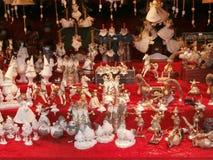 Il Natale commercializza a Dresda sul quadrato di Altmarkt, Germania, 2013 fotografie stock libere da diritti