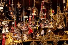 Il Natale commercializza a Monaco di Baviera, Baviera, Germania, Europa fotografia stock libera da diritti