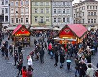 Il Natale commercializza, Praga Immagini Stock Libere da Diritti