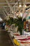 Il Natale cronometra al mercato degli agricoltori di Roanoke Immagini Stock