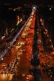 Il Natale cronometra a Parigi, Francia Fotografia Stock Libera da Diritti