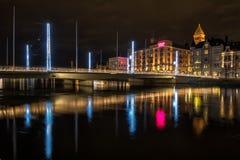 Il Natale cronometra in Svezia Fotografia Stock Libera da Diritti