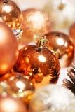 Il natale di natale del nuovo anno orna la decorazione immagini stock libere da diritti