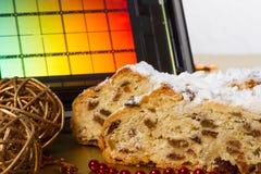 Il Natale di Dresda agglutina e reticolo fotografia stock
