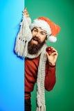 Il Natale equipaggia con la palla decorativa Immagini Stock