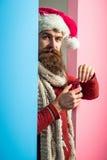 Il Natale equipaggia con la palla decorativa Fotografie Stock Libere da Diritti