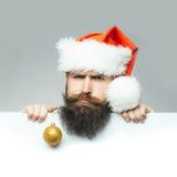 Il Natale equipaggia con lo strato di carta Fotografie Stock Libere da Diritti