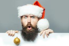 Il Natale equipaggia con lo strato di carta Fotografia Stock Libera da Diritti