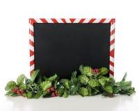 Il Natale ha incorniciato la lavagna Fotografia Stock