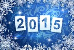 Il Natale orna con 2015 Immagine Stock Libera da Diritti