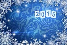 Il Natale orna con 2015 Fotografia Stock