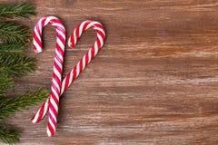 Il Natale rasenta i precedenti di legno Immagini Stock Libere da Diritti