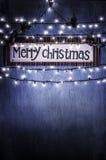 Il Natale si dirige la decorazione Fotografie Stock
