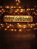 Il Natale si dirige la decorazione Fotografia Stock Libera da Diritti
