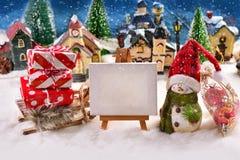 Il Natale sta venendo fotografia stock