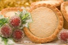 Mince pie di Natale immagini stock libere da diritti