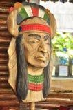Il nativo americano fa da legno Fotografie Stock Libere da Diritti