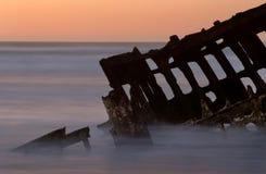 Il naufragio del Peter Iredale Fotografia Stock Libera da Diritti