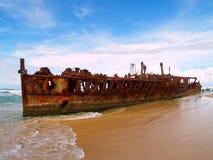 Il naufragio di Maheno Immagini Stock Libere da Diritti