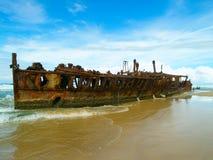 Il naufragio di Maheno Fotografie Stock