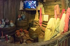 Il naufragio fa tesoro il museo, in Key West, Florida, il museo racconta la storia dell'industria dei demolitori in vecchio Key W Fotografia Stock