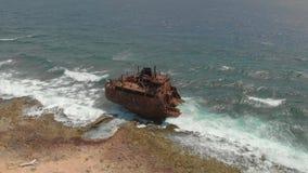Il naufragio a Klein Curacao archivi video