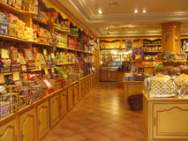 Il negozio di Candy Fotografie Stock