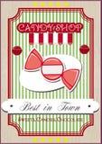 Il negozio di Candy Immagini Stock Libere da Diritti