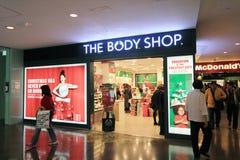 Il negozio di corpo a Hong Kong immagini stock