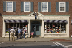 Il negozio famoso di accordo fotografia stock libera da diritti