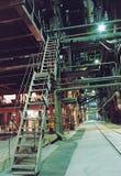 Il negozio principale della fabbricazione della energia elettrica Fotografia Stock