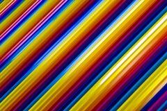Il neon del Rainbow allinea il colore in pieno Fotografie Stock Libere da Diritti