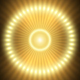 Il neon teletrasporta Fotografia Stock
