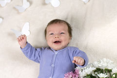 Il neonato Fotografie Stock Libere da Diritti