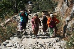 Il Nepal fotografie stock libere da diritti