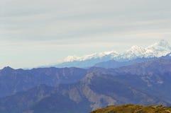 Il Nepal, Lantang Mt. Immagini Stock