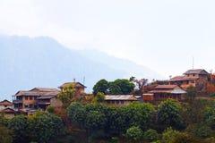 Il Nepal rurale Immagine Stock