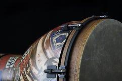 Il nero africano Bk del tamburo di Djembe Immagini Stock Libere da Diritti