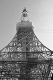 Il nero/bianco della torre di Tokyo Fotografia Stock