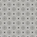 Il nero, bianco e Gray Abstract Seamless Pattern Illustration Fotografia Stock