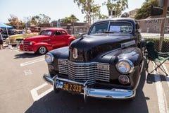 Il nero Cadillac 1941 immagine stock libera da diritti