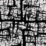 Il nero crackled struttura astratta Immagine Stock Libera da Diritti