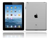 Il nero del iPad 3 del Apple Immagini Stock