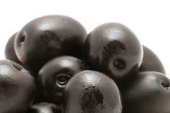 Il nero dell'oliva Fotografie Stock Libere da Diritti