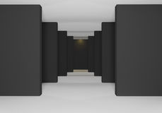 Il nero delle pareti Immagine Stock Libera da Diritti